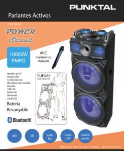 BAFLE ACTIVO - M&N Soluciones Globales