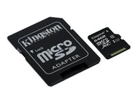 Kingston - Tarjeta de memoria flash (adaptador microSDXC a SD Incluido) - 64 GB - M&N Soluciones Globales