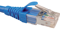 Nexxt S/FTP Patch Cord Cat6A 3ft. BL - M&N Soluciones Globales