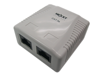 Nexxt Double Port Surface Mount RJ45 Cat5e - M&N Soluciones Globales