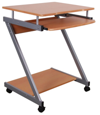 Computer Table (Cherry) - M&N Soluciones Globales