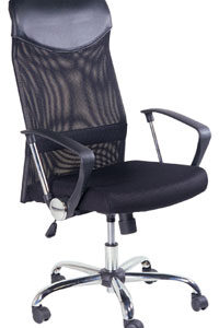 Manager Chair w/Arm Rest (Torin) - Black - M&N Soluciones Globales