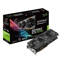 ASUS - ROG-STRIX-GTX1070TI-A8G-GAMING - PCI Express 3.0 x16 - M&N Soluciones Globales