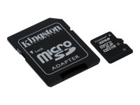 Kingston - Tarjeta de memoria flash (adaptador microSDHC a SD Incluido) - 32 GB - M&N Soluciones Globales