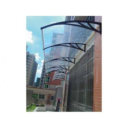Alero transparente de policarbonato - M&N Soluciones Globales