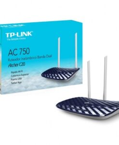 Router Wireless TP-Link Archer C20 Dual Band - M&N Soluciones Globales